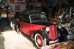 DKW Convertible 2 door 4 passenger  1937 vary rare Photo
