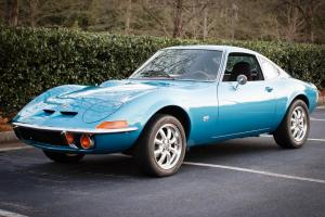 Spectacular 1973 Opel GT 49,000 original miles bare metal respray