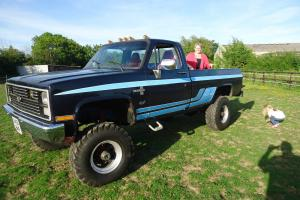 1984 CHEVROLET 4X4 PICKUP MONSTER TRUCK HOTROD CUSTOM  Photo