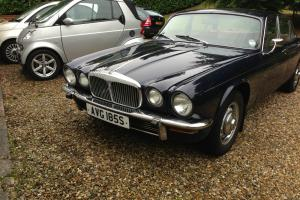 1977 DAIMLER SOVEREIGN 4.2 LWB AUTO BLUE