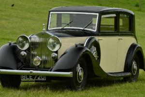 1934 Rolls Royce 20/25 Sports Saloon by Hooper