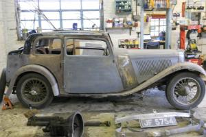 1934 SS TWO (SS 2) (SS II) Barn find / resto project.  Photo