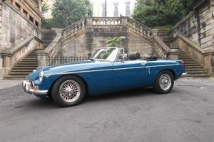 1973 MG B Roadster Manual Chrome Bumper