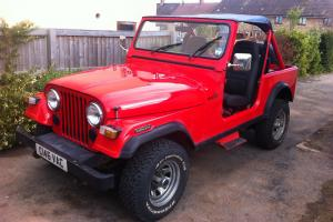 1985 Jeep CJ7 Automatic 4.2 I6 PAS Factory RHD No Rust