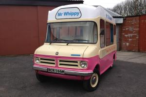Original Morrison Classic Bedford CF Soft Ice Cream Van Mr Whippy - Historic Van