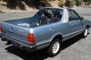 BRAT only 55K miles! 4x4, 4WD, T-Tops, AC works, Rear Seats, Calif. Car, NICE!!!