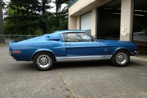 1968 Shelby GT 500 - Acapulco Blue - the real thing