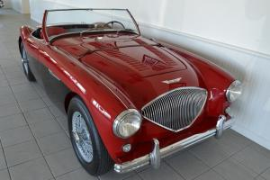 1956 Austin Healey 100M in highly restored condition. Photo