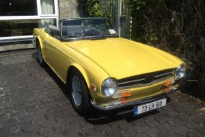 Beautiful vintage TR6  Photo