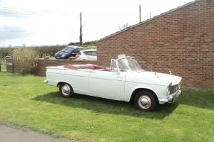 HILLMAN SUPER MINX WHITE  Photo