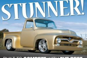 1955 Ford F100 Show Truck seen on the cover May 2013 Custom Classic Trucks