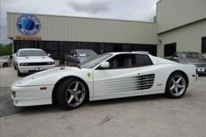 1989 White Testarossa! Sport, Luxury, Like New!