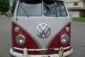 1966 VW bus   Volkswagen bus  21 window delux