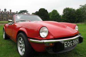 TRIUMPH GT6 SPORTS CAR, AMAZING CONDITION, BARGAIN Photo