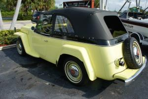 1950 WILLYS-OVERLAND JEEPSTER