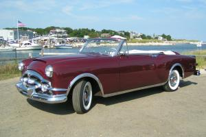 1953 Packard Caribbean restored in Matador Maroon, an excellent driver