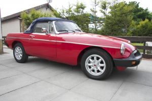 MGB ROADSTER 1976 -THE ULTIMATE MGB - STUNNING SHOW CONDITION
