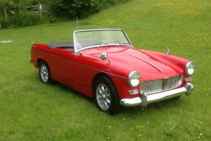 1961 MG MIDGET Mk1 totaly STUNNING VERY RARE NONE BETTER APPRECIATING ASSETT