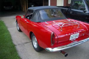 1966 SUNBEAM ALPINE SERIES 5 V 1725 CC RAGTOP RED CONVERTIBLE ROOTES GROUP