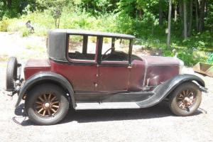 1927 FRANKLIN 11B VICTORIA COUPE EXC UNRESTORED SURVIVOR 3 GENERATIONS SINCE NEW