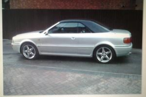 AUDI 80 CABRIOLET.WITH METAL BLACK HARD TOP,SPARE ENGINE AND ORIGINAL WHEELS  Photo