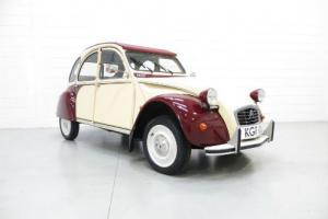 A Charming Citroen 2CV6 Dolly in Plums and Custard with Only Two Owners from New