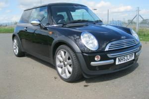 2004 MINI ONE BLACK 91,310M NEW MOT MANY EXTRAS PEPPER PACK EXCELLENT CONDITION