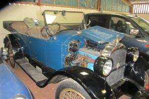 Willys Knight Overland 1923 imported Tasmania