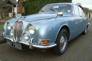 1966 JAGUAR S TYPE 3.8 MANUAL/OVERDRIVE NOT JAGUAR MK2 MK11