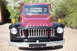 Bedford J SeriesTruck - 1968 - Maroon Black Two Tone Color - Classic Vehicle