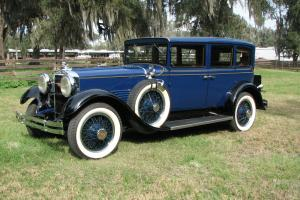 1930 Stutz model MA  Dual mount Touring sedan low miles