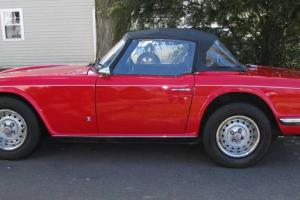 1973 Triumph TR6 Roadster Photo