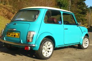 FULLY REBUILT AND RESTORED CLASSIC AUSTIN ROVER MINI IN SURF BLUE  Photo