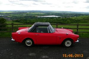 Red Sunbeam Alpine Series 4 1600cc