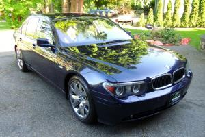 NO RESERVE: 2005 BMW 745i - SPORT & PREMIUM PACKAGE - REAR TV - FULLY LOADED