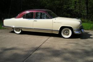 1953 Kaiser Manhattan Two Door Club Sedan