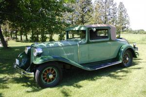 1931 Chrysler CD8  coupe  with rumble seat