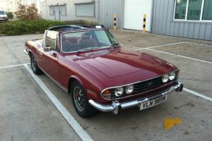1974 TRIUMPH STAG 3000 V8  Photo