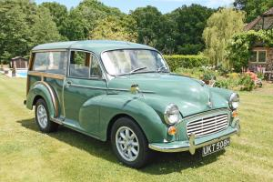 1970 Morris Traveller. Owned by me for 33 years