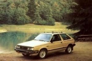 1984 SUBARU GL 4WD ... 47,716 Original Miles ... One Owner