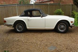 triumph tr6 1971 150 BHP  Photo