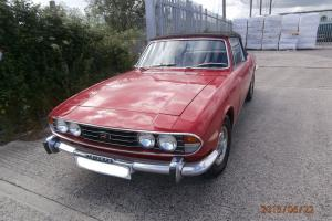 Triumph Stag 1971 tax free in good condition
