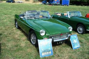 1971 MG B Roadster Light British Racing Green rebuilt by Naylor Bros 1988