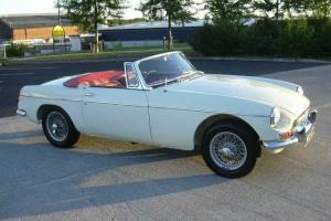 MGB Roadster, 1963, Pull Handle, Wire Wheels, EXCEPTIONAL/MATCHING NUMBERS  Photo