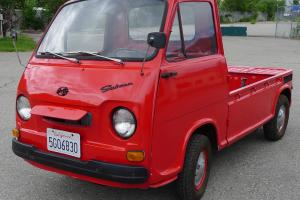 1969 Subaru Sambar 39K Completely Original and Fully Functional