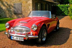 1966 - Austin Healey MK3,  with Chevi -V 8     -   german restauration   -