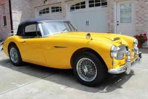 1963 AUSTIN HEALEY 3000 MK II RESTORED AND GARAGED--GREAT CAR !!!!!!!!!!!!!!!!!!