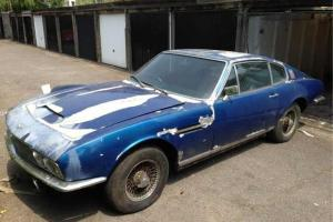 1968 aston martin dbs rare classic car project (amv8 am v8 vintage)only 787 made