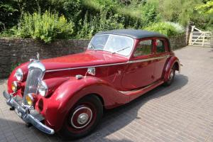 1951 Riley 2.5 LITRE RMB Saloon Manual Maroon