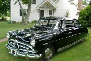 1951 Hudson Pacemaker Coupe with 308,Restored,Rust free,Black Beauty,Gray Inter.